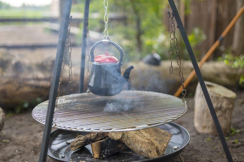 Sams BenB Dwingeloo houtvuur barbecue